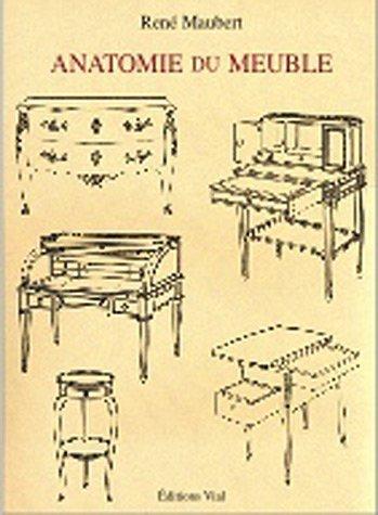 Anatomie du meuble de René Maubert (2003) Relié