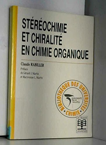 Stéréochimie et chiralité en chimie organique