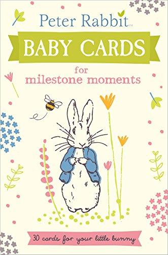 Peter Rabbit Baby Cards: for Milestone Moments (Beatrix Potter Gift Book) por Beatrix Potter