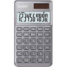 Casio SL 1000 SC GY Calculatrice de poche Gris
