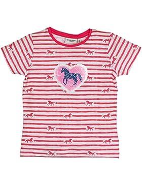 SALT AND PEPPER Mädchen T-Shirt Horses Stripes Sequins