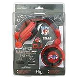 Zeikos NFL Buffalo Rechnungen Team Logo DJ Kopfhörer