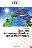 État de l'art technologique des cellules solaires photovoltaïques...