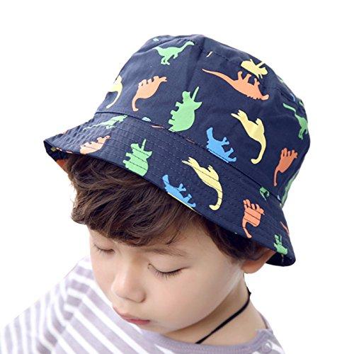 Feoya - Gorro Niño Bebé Infantil Estampado Dinosaurio De Pesca de Algodón  Verano Playa 6- 3bbf4ac4a4f