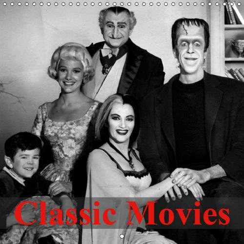 Classic Movies (Wall Calendar 2019 300 × 300 mm Square): Great old cult movies (Monthly calendar, 14 pages ) (Calvendo Art)