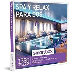 Smartbox - Caja Regalo - SPA Y Relax para Dos - 1350 Actividades como masajes relajantes, accesos a circuitos de Aguas o spas