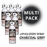 SimplySpray - Upholstery Spray Charcoal Grey - Textilfarbe Grau (Multipack)