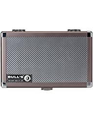 Bull's Erwachsene L Dartsafe L Aluminium Case, Silver/Black, L