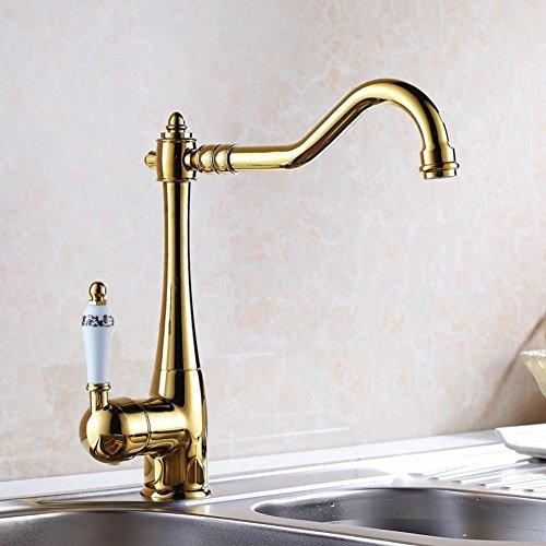 Beleuchtung Blau und Weiß Küche Wasserhahn/Becken Zähler Becken Hot und Cold taps-b - Zähler Beleuchtung Küche