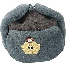55c6eb1bb38 RUSSIANSTORE Sombreros DE Lana Marina DE Guerra SOVIÉTICA Ushanka Tamaño   ...