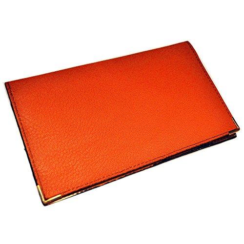 Charmoni–Porta assegni e carte di credito, in pelle, Pablo arancione Taglia unica