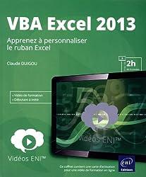 Vidéo VBA Excel 2013 - Apprenez à personnaliser le ruban Excel