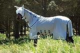 Horseware Fliegendecke Amigo Bug Buster Vamoose Silver/Purple & Mint 115-160 (155)