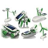 6 in 1 Solar Kit, Plastic (8.66 x 6.69 x...
