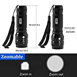 Lighting Dynasty CREE LED Torch, Super Bright, Adjustable Focus, DURACELL Batteries Included [Energy Class A] Bild 4
