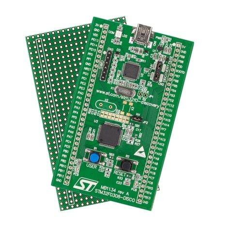 STM32F0308-DISCO: Evaluierungskit für den STM32F030R8 Rechner von STMircoelectronics - Push-button-schalter Umfasst