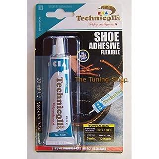 Technicqll Kleber) für Schuhe Leder, Gummi, Filz und Stoff: nylon skaï 20 ml