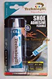 STRONG ADHESIVE GLUE FOR SHOES LEATHER RUBBER FELT NYLON LEATHERETTE FABRICS 20ml new by Technicqll