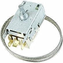 Spares2go 077b6697K59) l1922tipo Kit de control de temperatura termostato para frigorífico Zanussi congeladores