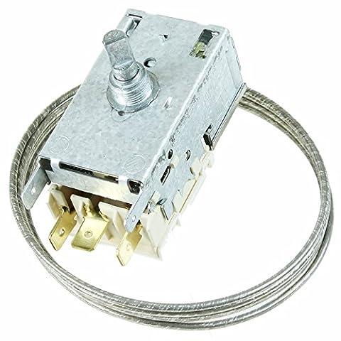 spares2go Thermostat K59L1922Typ Temperaturregelung Thermostat-Kit für AEG Kühlschränke