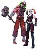 DC Collectibles Batman: Arkham City: Mr. Marteau et Harley Quinn Action Figure, 2-pack