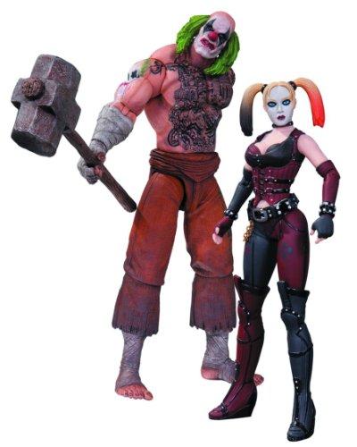 DC Sammlerstücke Batman: Arkham City: Mr. Hammer und Harley Quinn Actionfigur, 2er Pack
