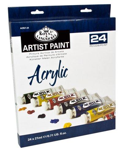 royal-langnickel-pintura-acrilica-21-ml-24-unidades-multicolor