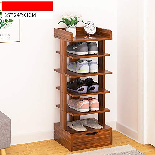 BOOK CASE SEXY- Schuhregal/Schuhschrank, Multifunktions-Home-Rack - Multi-Layer-Montage Schuhschrank...