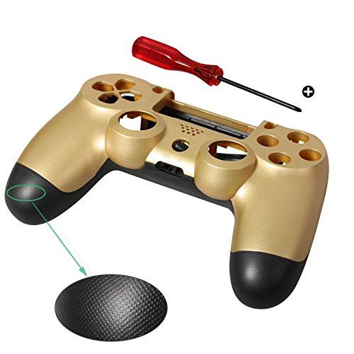 Timorn Plástico Duros Controlador de la Vivienda Shell Caso de Reemplazo de la Cubierta para PlayStation 4 PS4 (1 x Estuche + 1 x Destornillador)
