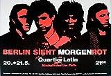MORGENROT - 1983 - Konzetplakat - Concert - Berlin sieht... - Tourposter - Berli
