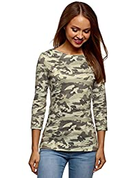 35f26949cb23 Amazon.es: camisa camuflaje mujer - Envío internacional elegible: Ropa