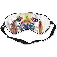 Comfortable Sleep Eyes Masks Dog Head Printed Sleeping Mask For Travelling, Night Noon Nap, Mediation Or Yoga preisvergleich bei billige-tabletten.eu