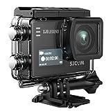 #10: SJCAM SJ6 Legend 16MP Real 4K Action Camera Dual Screen 2.0 Touchscreen /Gyro Stabilization /External Microphone Supported /Remote Control WiFi Waterproof Underwater Camera+ Waterproof Case- Black