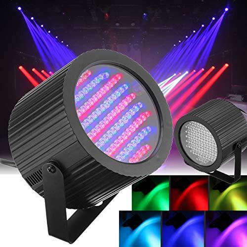 HVTKL 2 stücke 86 LED RGB Sound Aktive Bühne Licht DMX DJ Disco Club Bar Strobe Beleuchtung HVTKL (Licht Bars Strobe)
