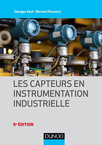 couverture du livre Les capteurs en instrumentation industrielle