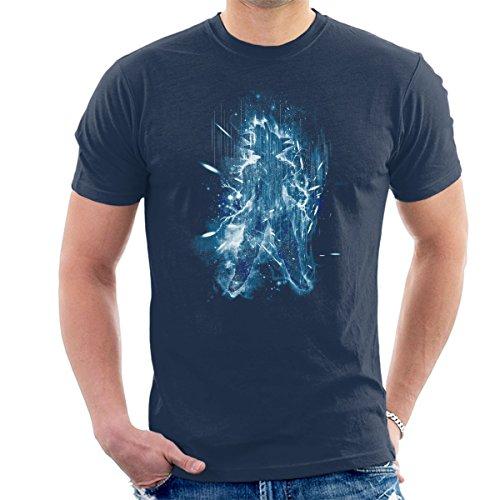 Super Saiyan Blue Dragonball Z Men's T-Shirt Navy Blue