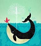 El pájaro y la ballena - Limited Edition de Imprimir un Póster