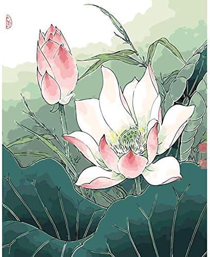 WACYDSD Puzzle Adulte 1000 Pièces Puzzle Puzzle Puzzle 3D Fleurs De Lotus Roses Décor À La Maison Décoration Murale pour Salon Printemps   Faible Coût  e8fe4b