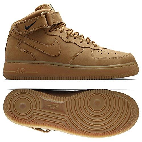 Nike Herren Air Force 1 Mid '07 Prm QS Basketball Turnschuhe, Marrón