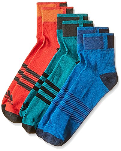 Preisvergleich Produktbild adidas CLI ID ANKLE TC3P [GR. 40-42 ] 3-ER -PACK SOCKS SNEAKER SOCKEN AJ9677