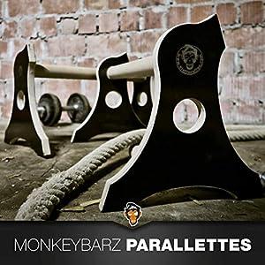 Parallettes Minibarren 3in1 aus Holz Liegestütz Dip Barren Calisthenics Fitness Handstand
