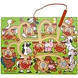 Melissa & Doug 12280 Magnetic Number Maze Toy