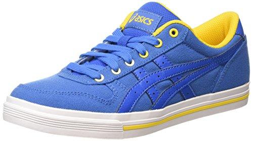 Asics Aaron, Baskets Basses Mixte Adulte Bleu (classic Blue/classic Blue 4242)