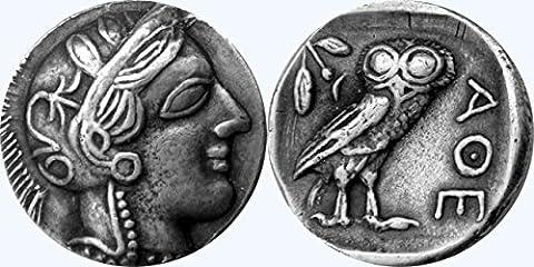 Griechische Götter und Göttinnen Collection # 77-s, Athena & Eule,