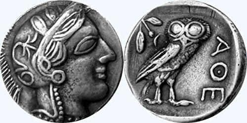und Göttinnen Collection # 77-s, Athena & Eule,