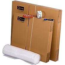 Pack Mudanza (Cajas de cartón, plástico burbujas, precinto, etc) con el embalaje necesario para una mudanza de casa (PACK MUDANZA BASIC)