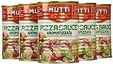 Mutti Pizza Sauce Aromatizzata - Pacco da 12 X 400 G