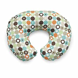 Chicco Boppy 7079915100000 Cotton Feeding Pillow With Cotton Pillow Case 2 Sided Pattern Surprise