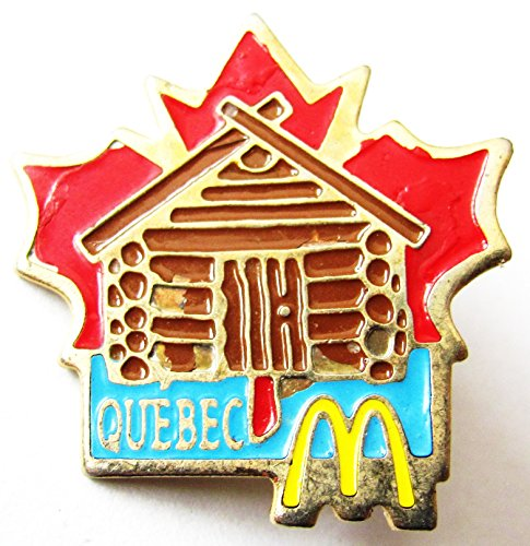 Mc Donald´s - Quebec - Pin 27 x 27 - Mc Donalds Kostüm