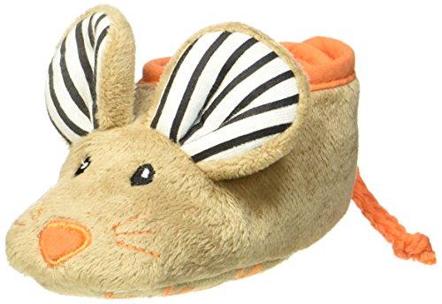Kinder, Toms Schuhe Größe 4 (Joules X_BABYSQUEAKRB, Baby Jungen Lauflernschuhe, Braun (Mouse), 0-6 Monate EU (M))